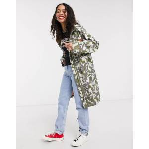 Tommy Jeans camo printed parka in multicolour  - 26091437643 - Size: Small