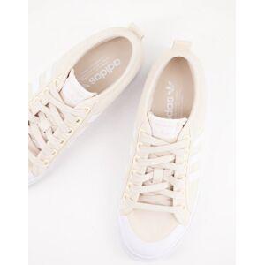 adidas Originals Nizza platform trainers in beige-Neutral  - Neutral - Size: 8