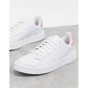 adidas Originals Supercourt trainers in white  - White - Size: 7
