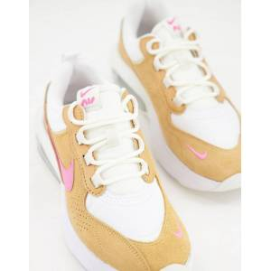 Nike Air Max Verona trainers in white, orange and pink  - White - Size: 3.5