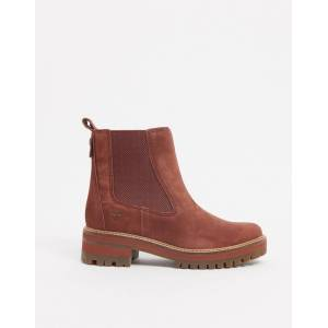 Timberland courmayeur valley chelsea boots in tan  - Tan - Size: 3.5