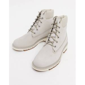 Timberland kenniston 6 inch lace up boots in beige  - Beige - Size: 3.5