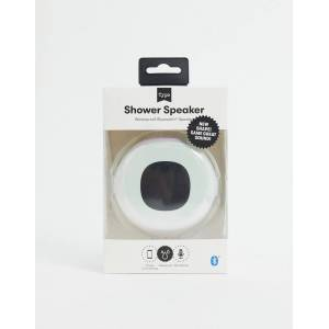 Typo LED shower speaker in pearlescent-White  - White - Size: No Size