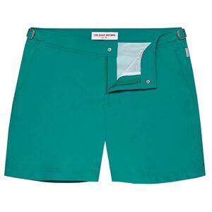 Orlebar Brown Bulldog Mid Length Swim Shorts - Emerald  - Size: 32