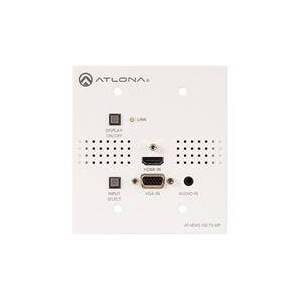 Atlona Two-Input UK Wall Plate Switcher for HDMI and VGA Inputs