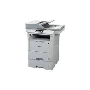 Brother MFCL6800DW All-In-One Mono Laser Printer with Extra Lower Tr