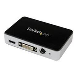 StarTech.com USB 3.0 Video Capture Device - HDMI / DVI / VGA / Component HD Video Recorder