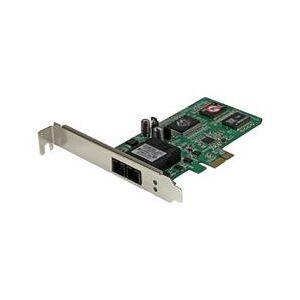 StarTech.com PCI Express (PCIe) Gigabit Ethernet Multimode SC Fiber Network Card Adapter NIC - 550m