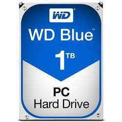 WD Blue 1TB Desktop Hard Disk Drive - 5400RPM SATA6 Gb/s 64MB Cache 3.5 Inch - WD10EZRZ