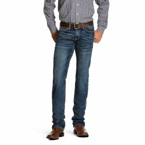 Ariat Men's M7 Rocker Stretch Coltrane Stackable Straight Leg Jeans in Silverton Cotton, Size 32 30, by Ariat