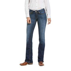 Ariat Women's R.E.A.L. Perfect Rise Stretch Rosa Boot Cut Jeans in Lita Cotton, Size 26, by Ariat