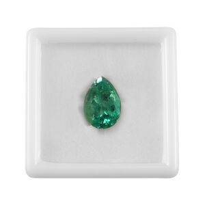 TJC One of a Kind - GIA CERTIFIED AAA Colombian Emerald Size 29.55x21.03x14.57mm (Pear Cut) 47.16 Ct.
