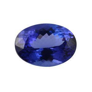 TJC IGI Certified Tanzanite Faceted Oval 13.32x9.86 4A 6.250 Cts (GT13460708)