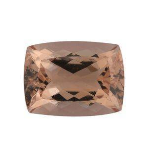 TJC AAA Morganite Cushion 16x12 Faceted 9.95 Cts