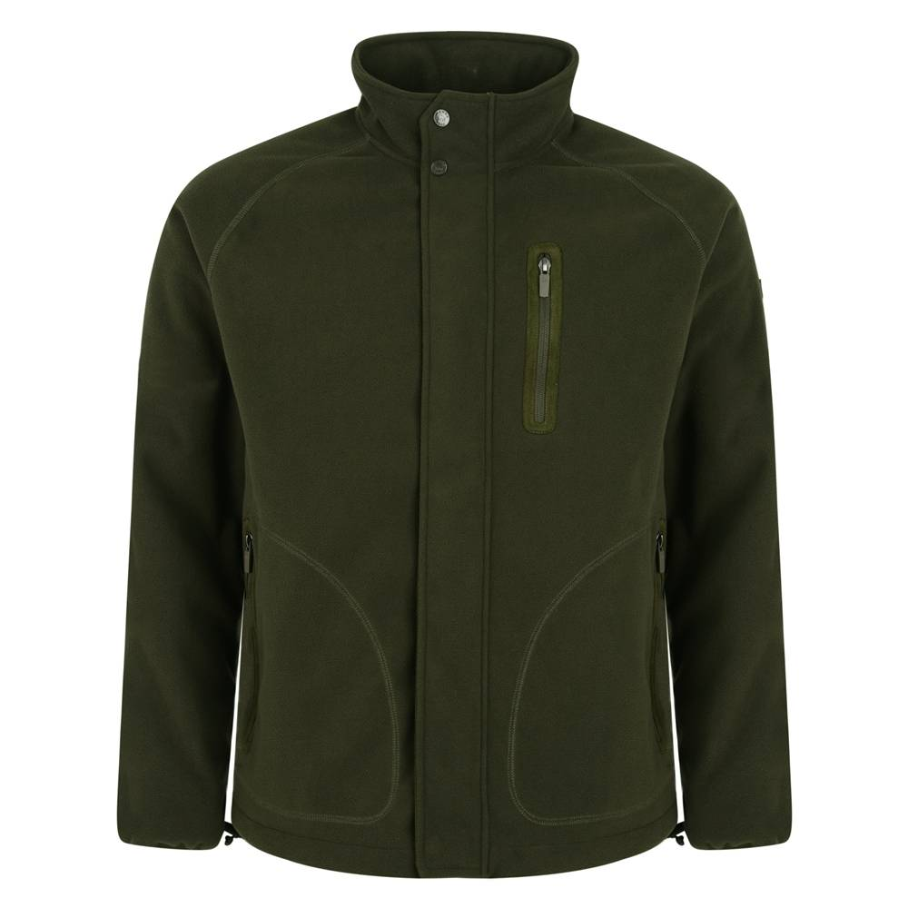 Magee 1866 Olive Birra Technical Weatherproof Fleece
