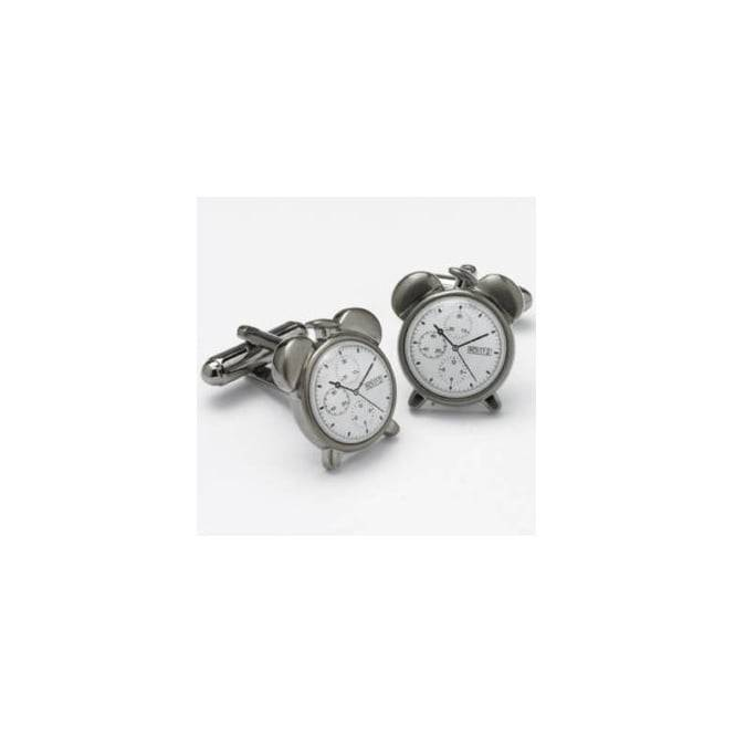 Alarm Clock Novelty Cufflinks