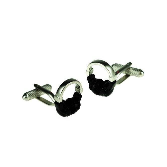 Headphones Novelty Cufflinks