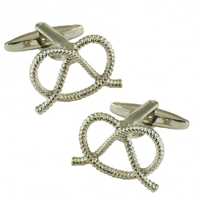 Staffordshire Knot Silver Cufflinks