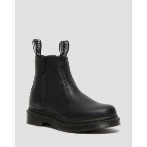 Dr. Martens 2976 WITH ZIPS LEATHER CHELSEA BOOTS