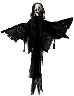 EUROPALMS Halloween figure Angel, animated 165cm - Halloween decoration