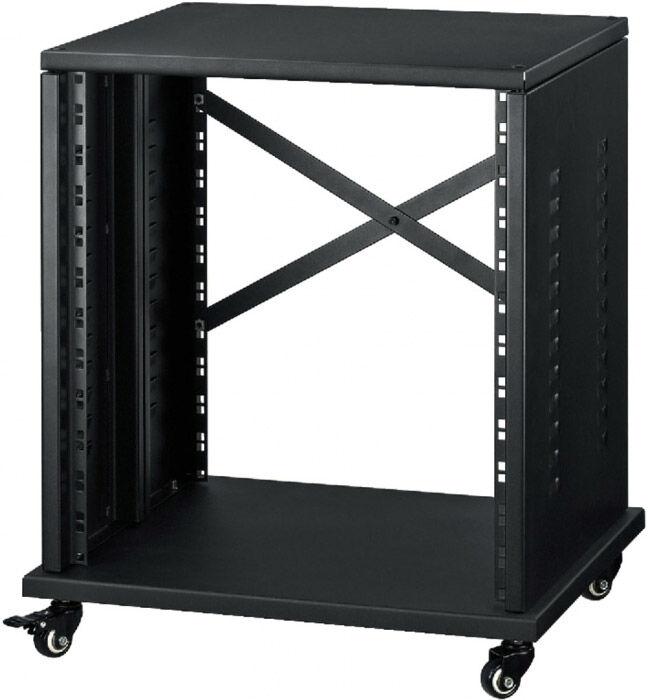 "MONACOR Studio rack for 482mm (19"") units, 12RS - Racks"