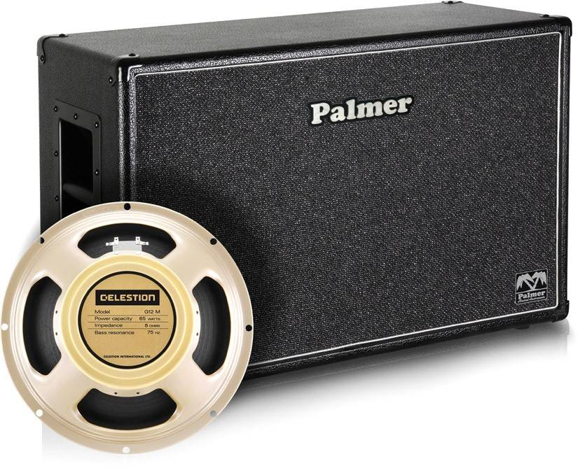 """Palmer MI CAB 212 CRM OB Guitar Cabinet 2 x 12"""" with Celestion Creamback - Guitar amplifiers"""