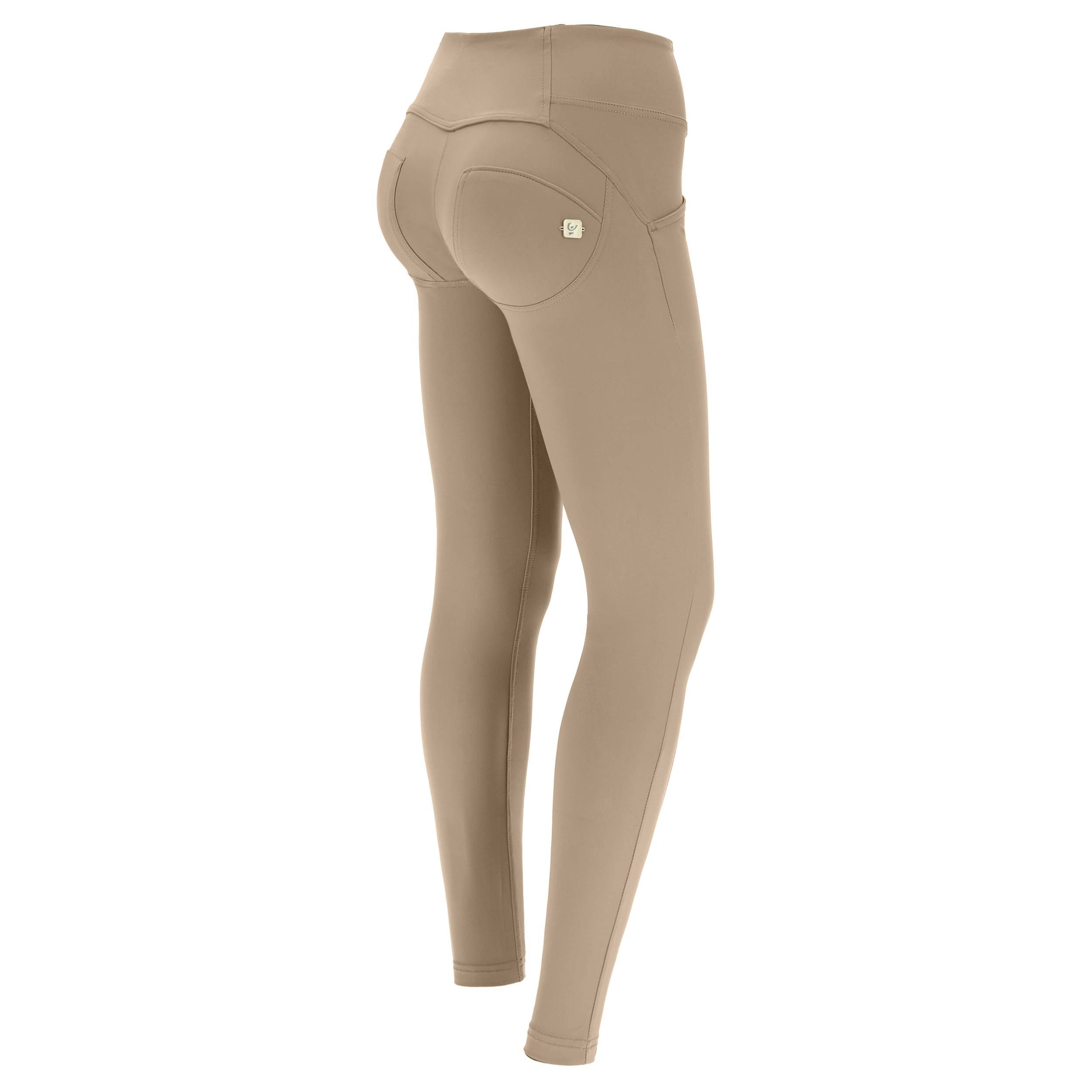 Freddy WR.UP® mid-rise skinny-fit trousers in D.I.W.O.® Pro Made in Italy  - Woman - Cobblestone - Size: Extra Large