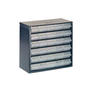 Raaco RAA137546 624-01 Metal Cabinet 24 Drawer