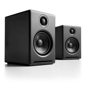 Audioengine 2+ (A2+) Premium Powered Desktop Speakers Colour BLACK