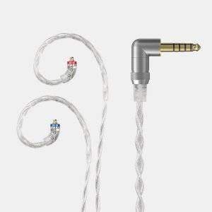 FiiO High-Purity Silver Headphone Cable - 2.5mm/3.5mm/4.4mm Cable Type 44D (4.4