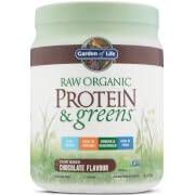 Garden of Life Organic Raw Protein And Greens Powder - Chocolate - 458G