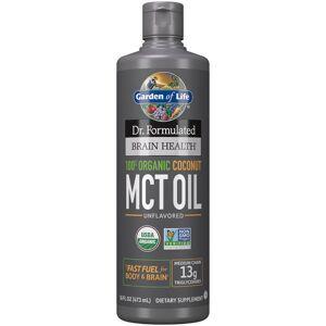 Garden of Life Brain Health Organic Coconut MCT Oil - 473ml