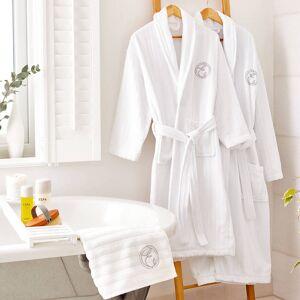 ESPA Cotton Embroidered Bath Robe - M
