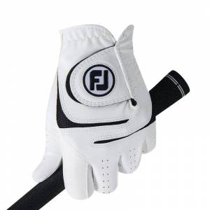 Footjoy WeatherSof Golf Glove, Male, Left Hand, Large, White