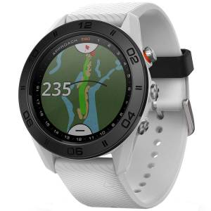 Garmin Mens White Approach S60 Golf GPS Watch