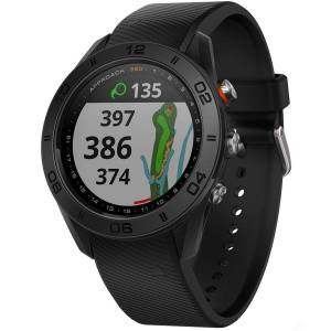 Garmin Mens Black Approach S60 Golf GPS Watch, Size: One Size