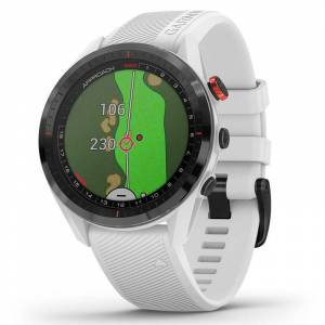 Garmin Approach S62 Golf GPS Watch, Male, White