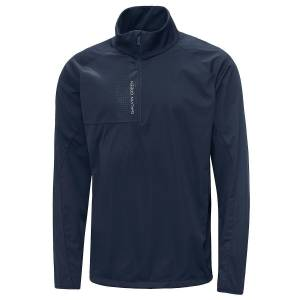 GalvinGreen Galvin Green Lincoln Interface-1 Golf Jacket, Male, Navy Blue, Small