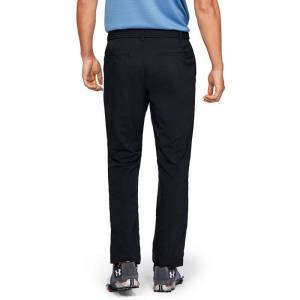 UnderArmour Under Armour EU Performance Taper Golf Trousers, Male, Black, 32, Long