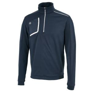 GalvinGreen Galvin Green Dwight Insula Midlayer, Male, Navy/White, Small