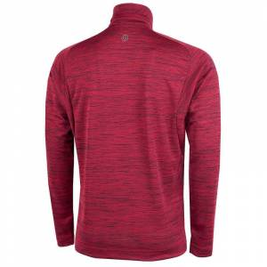 GalvinGreen Galvin Green Dixon 1/2 Zip Pullover, Male, Barberry, Small