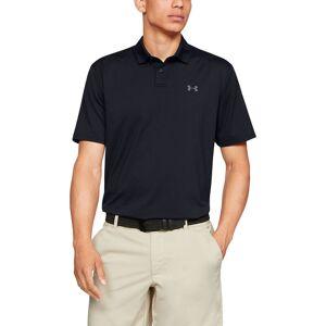 Under Armour Performance 2.0 Golf Polo Shirt, Mens, Black, Large American Golf