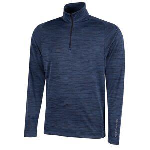GalvinGreen Galvin Green Mens Navy Blue Dixon 1/2 Zip Pullover, Size: Small