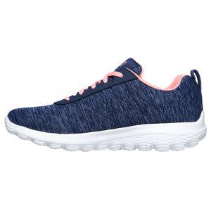 Skechers Go Golf Walk Sport Womens Golf Shoes, Female, Navy/pink, 5 American Golf