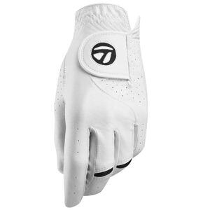TaylorMade Stratus Tech Golf Glove, Male, Left Hand, XL, White