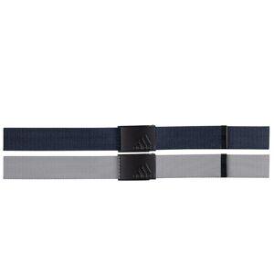 adidas Golf Mens Navy Blue Adjustable Reversible Golf Webbing Belt