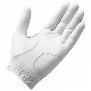 TaylorMade Stratus Tech Golf Glove, Male, Left Hand, Large, White