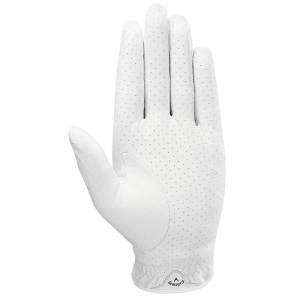 CallawayGolf Callaway Golf Dawn Patrol Golf Glove 2019, Male, Left Hand, Medium/Large, White