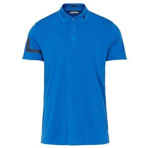 JLindeberg J.Lindeberg Heath Golf Polo Shirt, Male, Egyptian Blue, Medium