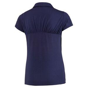 PUMAGolf PUMA Golf Fusion Mesh Ladies Golf Polo Shirt, Female, Peacoat, Large